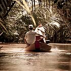 Mekong Delta narrow boat by Bimal Tailor
