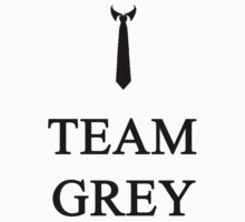 Fifty Shades Of Grey, Team Grey In Black. by JcDesign