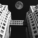 Moon Over Twin Towers #1 by Samuel Sheats