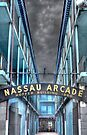 Nassau Arcade on Bay Street in Nassau, The Bahamas by 242Digital