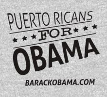 puerto ricans for obama! by drunkenazteca