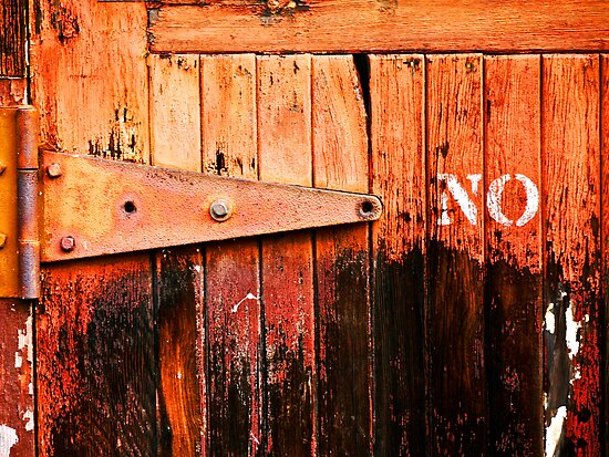 No Entry by Rae Tucker