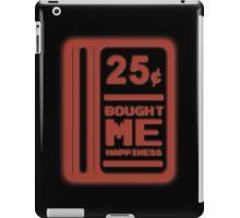 25 Cents = Happiness iPad Case/Skin