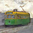 Melbourne Tram by Michele Meister