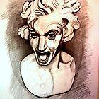 Bernini pencil study by VarryNiven