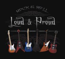 Guitars: Loud and Proud T-Shirt