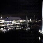 Darling Harbour Night Lights by AlexDexterEvas