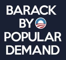 Barack By Popular Demand by shopfunkhouse