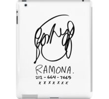 Ramona Flowers iPad Case/Skin