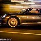 Panning a Porsche by Jonathan Melicharek
