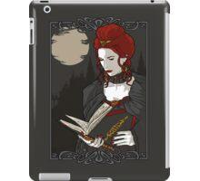 A Little Light Reading For Halloween iPad Case/Skin