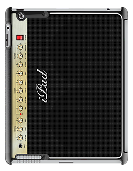 Marshall Guitar Amplifier iPad Case by Alisdair Binning