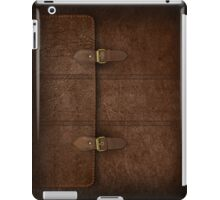 Brown Leather Satchel iPad Case/Skin