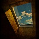 Window with clouds by brut