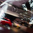 Mercedes-Benz Steering Wheel [ Print & iPad / iPod / iPhone Case ] by Mauricio Santana