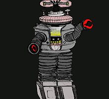 The Robot from Lost in Space! by John Gaffen