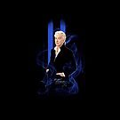"I-Pad Alan Rickman ""Blue Note"" by scatharis"