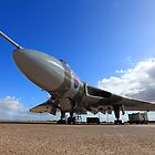 Avro Vulcan XH558 ~ Spirit of Great Britain by Clare Scott
