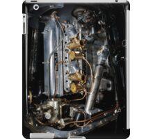 4.5 Litre Bentley Engine iPad Case/Skin