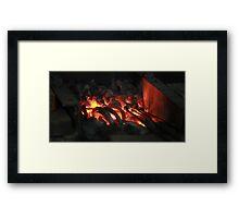 forge Framed Print