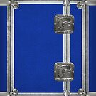 Flightcase (Blue) iPad Case by Alisdair Binning
