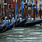 Venice and the Gondolas by Jennifer Lyn King