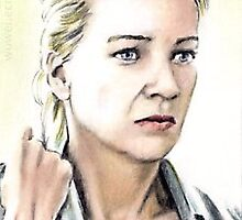 Laurie Holden miniature by wu-wei