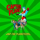 captain planet ipad case by kennypepermans