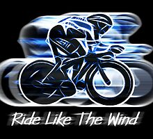 Ride Like The Wind (sticker and card version) by Ra12