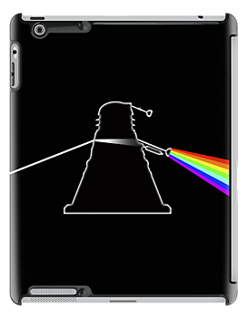 Dalek Side of the Moon - iPad Cover by BlueShift