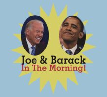 Joe & Barack In The Moooorning! by alxqnn
