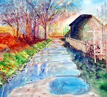 A Country Scene by Kerry Cillo