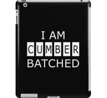 I AM CUMBERBATCHED iPad Case/Skin