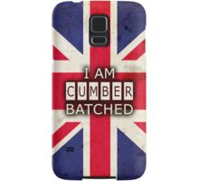 I AM CUMBERBATCHED (UK Edition) Samsung Galaxy Case/Skin