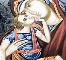 Madonna & Child Icon by leapdaybride