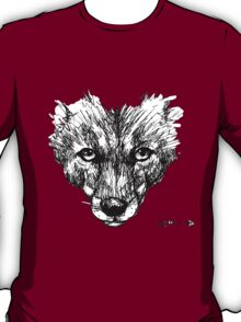 The Fox - Ink Drawing T-Shirt
