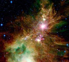 The Cone Nebula by SOIL