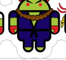 Street Droiders (Ryu, Akuma, Ken) Sticker
