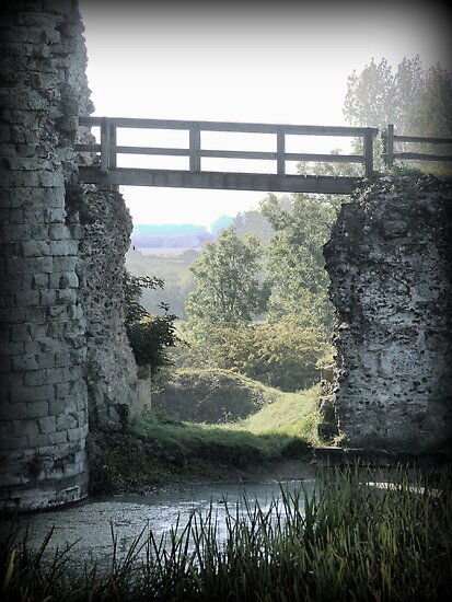 Pevensey Castle (1) .. The Entry by cullodenmist