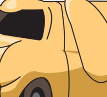 DUMBR The Ottobot Vehicle Sticker Sticker