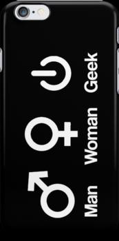 Woman, Man, Geek by gemzi-ox