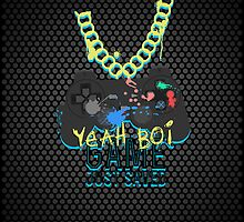 Yeah Boi - PlayStation (iPad) by Adam Angold