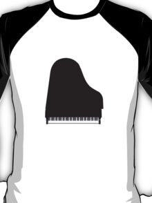 Grand Piano: Black Finish T-Shirt