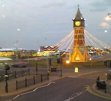 Skegness Tower Clock by Mick Bull