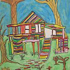 Dion Halse &#x27;Colourful House&#x27; by AccessArtsBOA