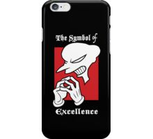 The Symbol of Excellence iPhone Case/Skin