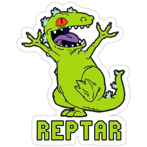 DINOSAUr REpTaR! [ reptar the friendly dinosaur ] by picky62
