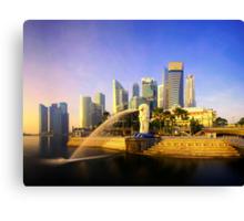 Merlion Sunrise - Iconic Singapore Canvas Print