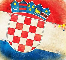 Croatia flag by naphotos
