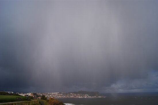 Storm over Scarborough by TREVOR34